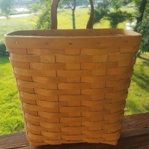 Longanberger wall hanging basket